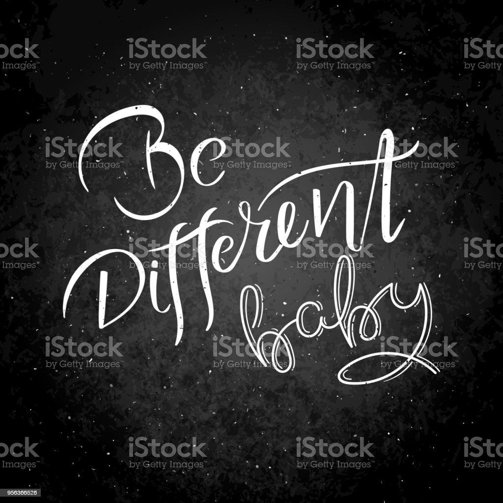 Mão escrita motivação de citação de caligrafia para a vida e a felicidade no quadro-negro. Para o cartão postal, cartaz, impressões digitais, design gráfico de cartões. - foto de acervo