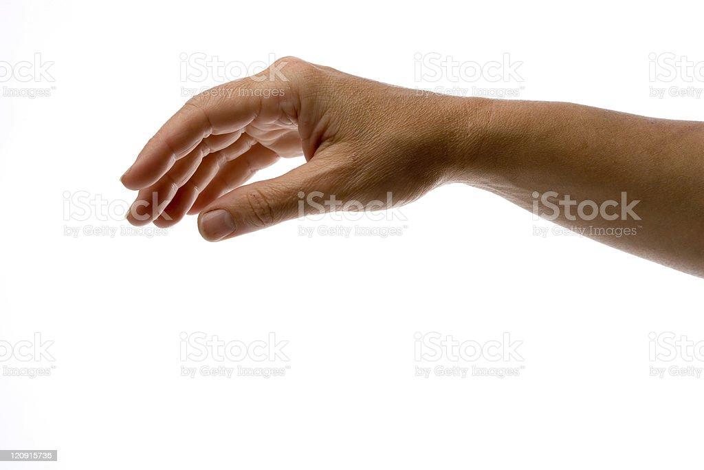 Hand-01 stock photo