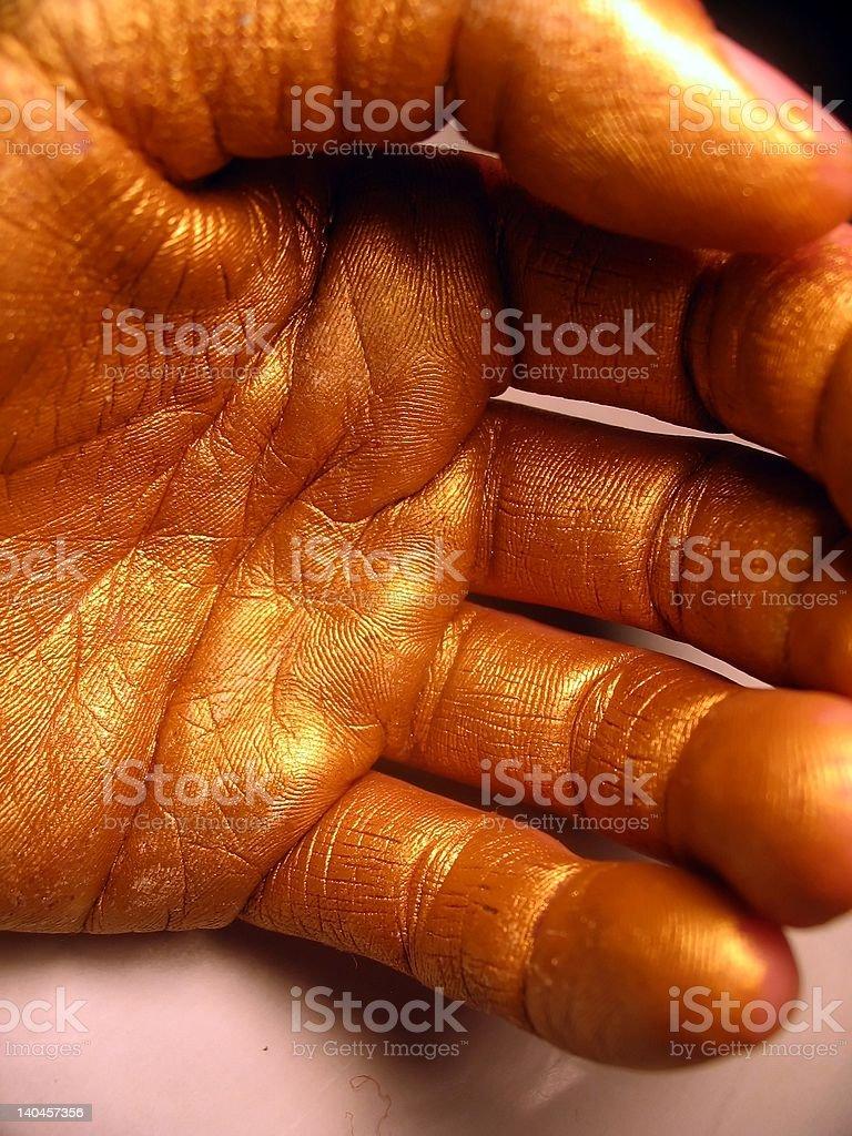 handagain stock photo
