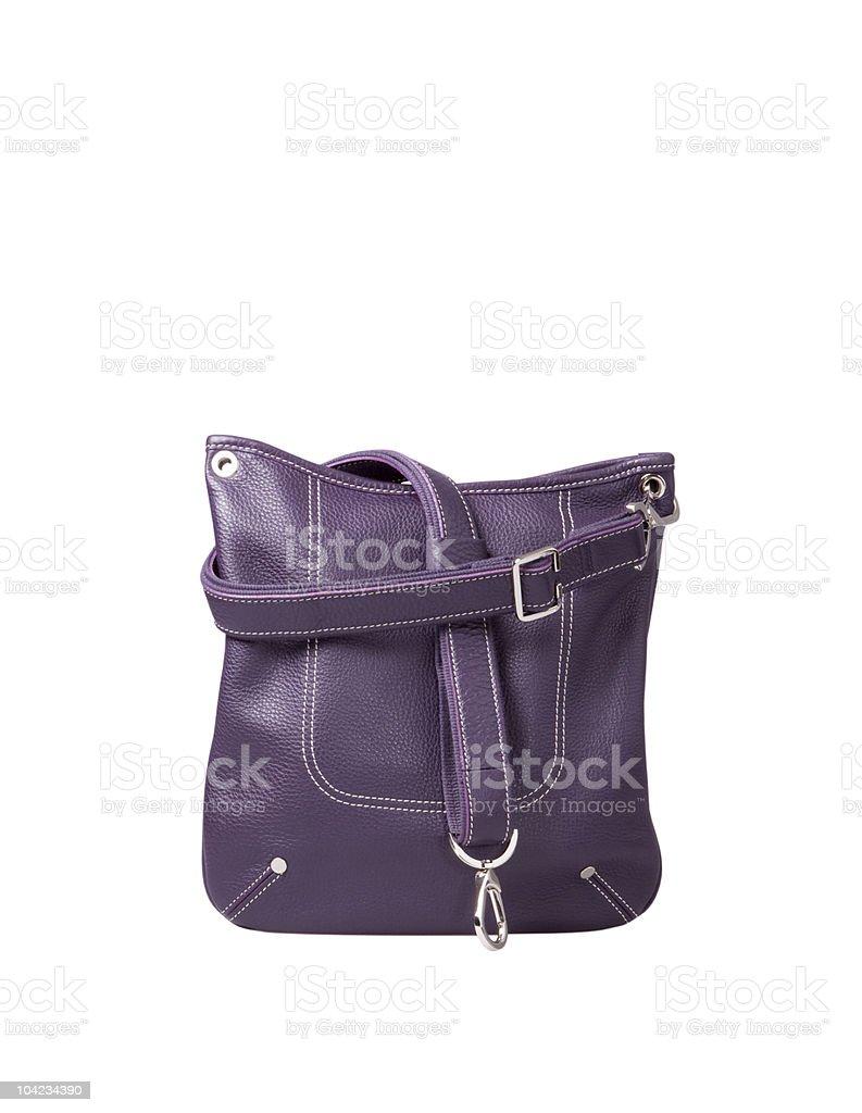 Handbag on White stock photo