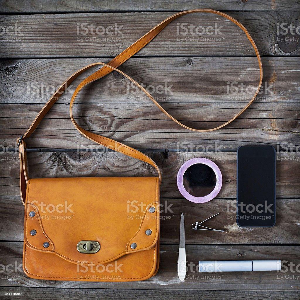 handbag royalty-free stock photo