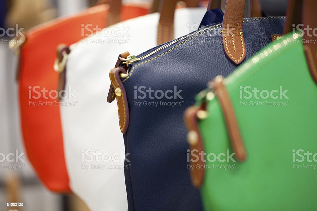 handbags for women stock photo