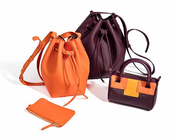 handtaschen - neontasche stock-fotos und bilder