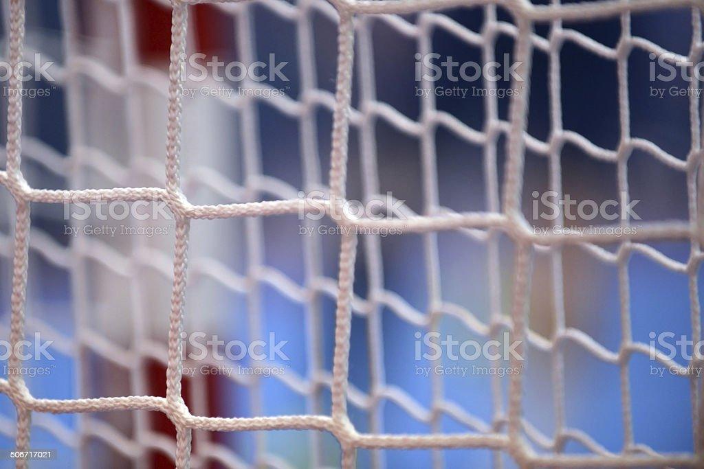 Handball Goal royalty-free stock photo