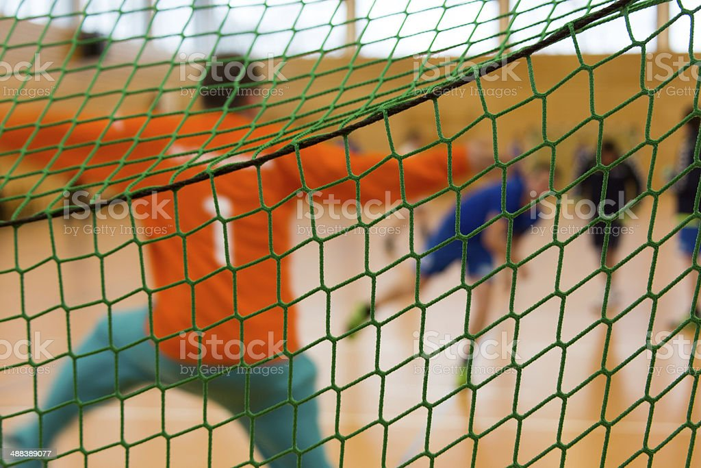 Handball Guarda-Redes - fotografia de stock