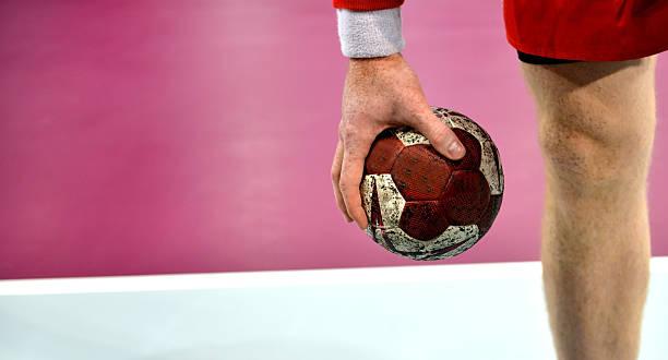 handball - handball player - handball court - handboll bildbanksfoton och bilder