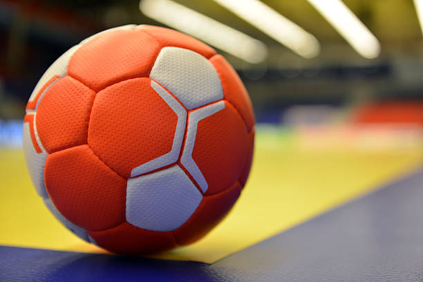 Balonmano - foto de stock