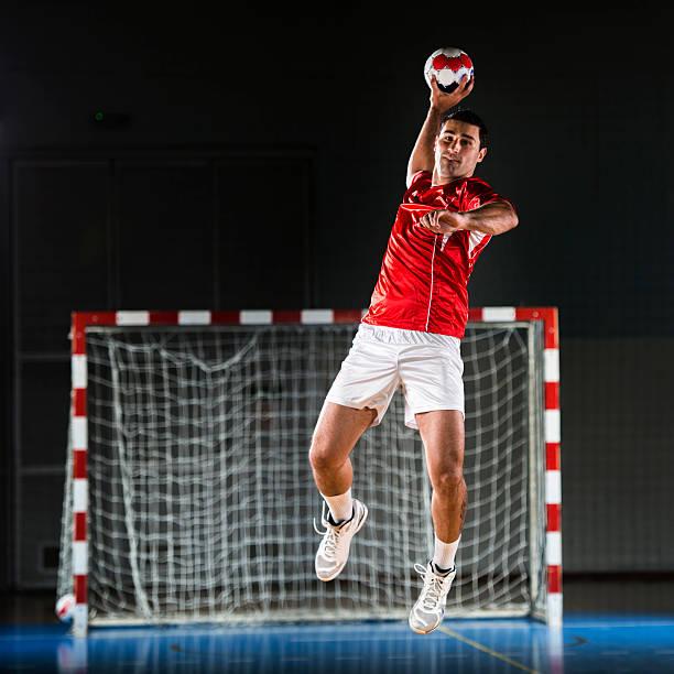 handball player. - handboll bildbanksfoton och bilder