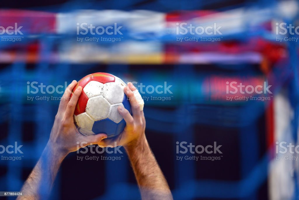Handball Player - fotografia de stock