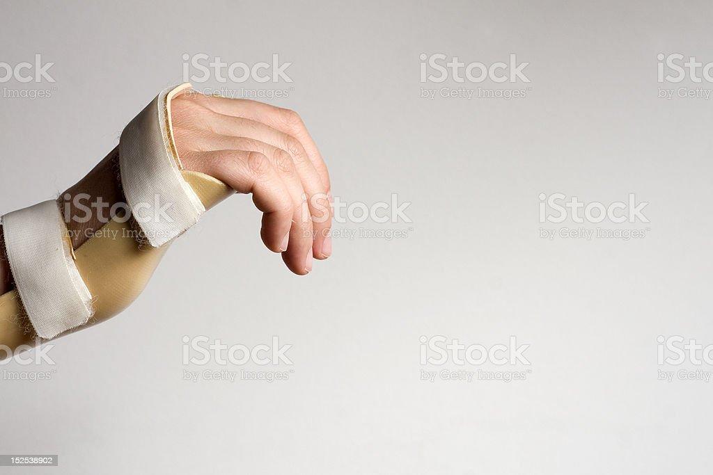 Handbandage stock photo