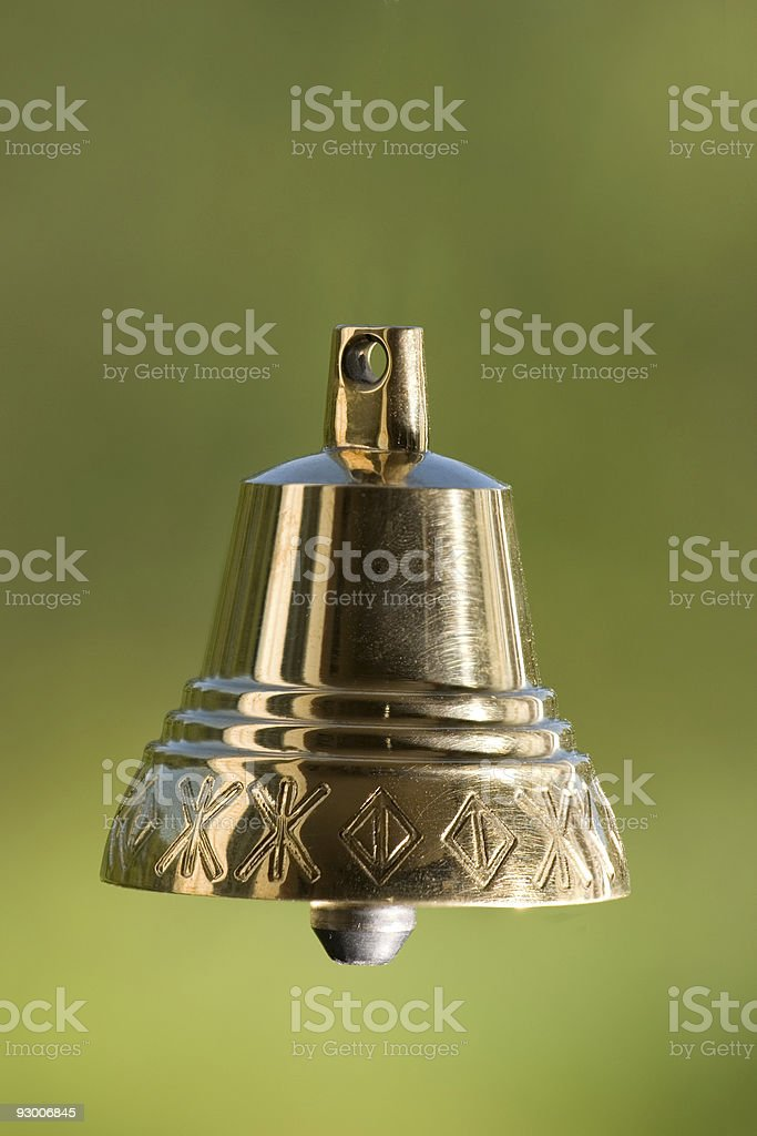 Handbell royalty-free stock photo