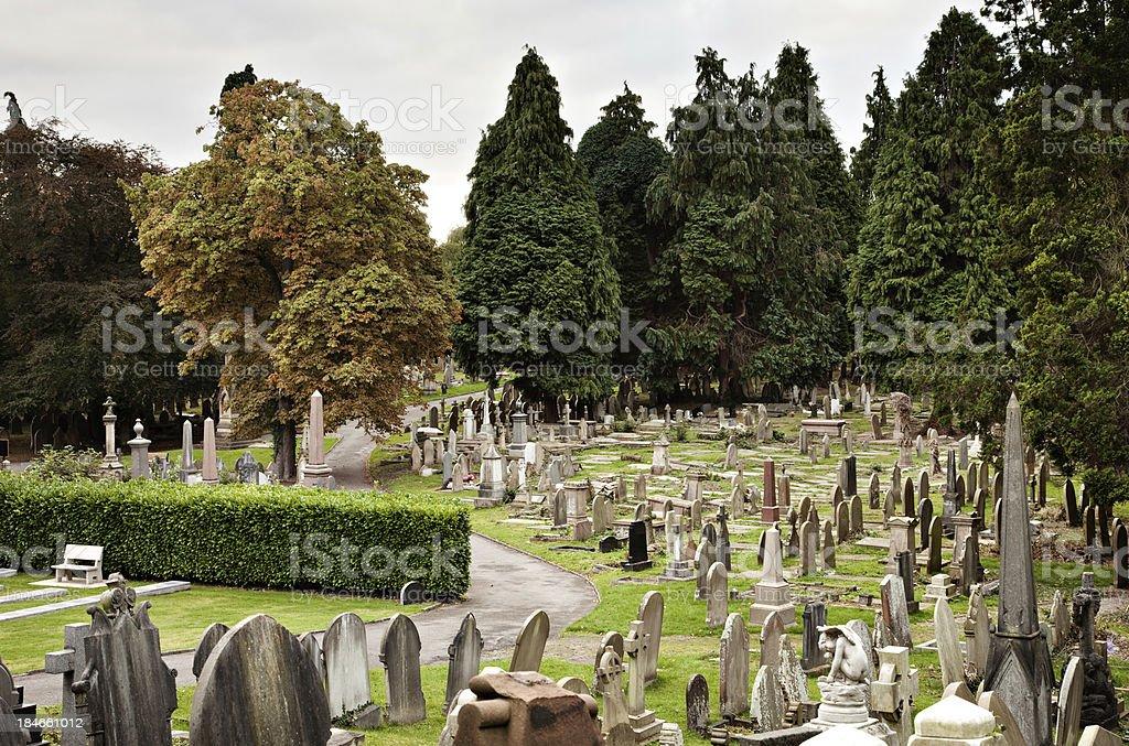 Handbridge Cemetery royalty-free stock photo