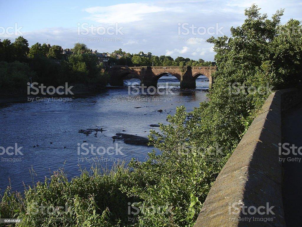 Handbridge, Chester UK 02 royalty-free stock photo