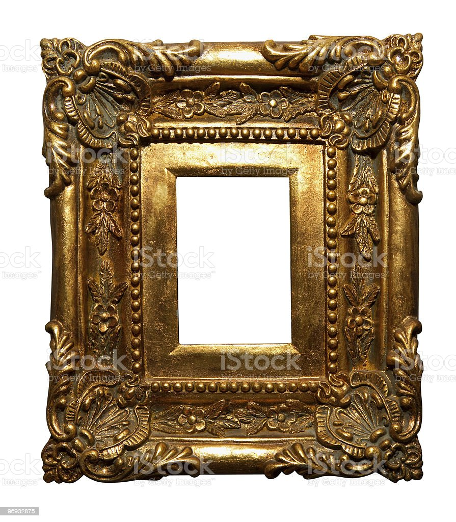 Handcrafted frame royalty-free stock photo