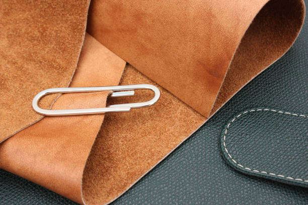 Cтоковое фото Handcrafted leather work  Furnishing