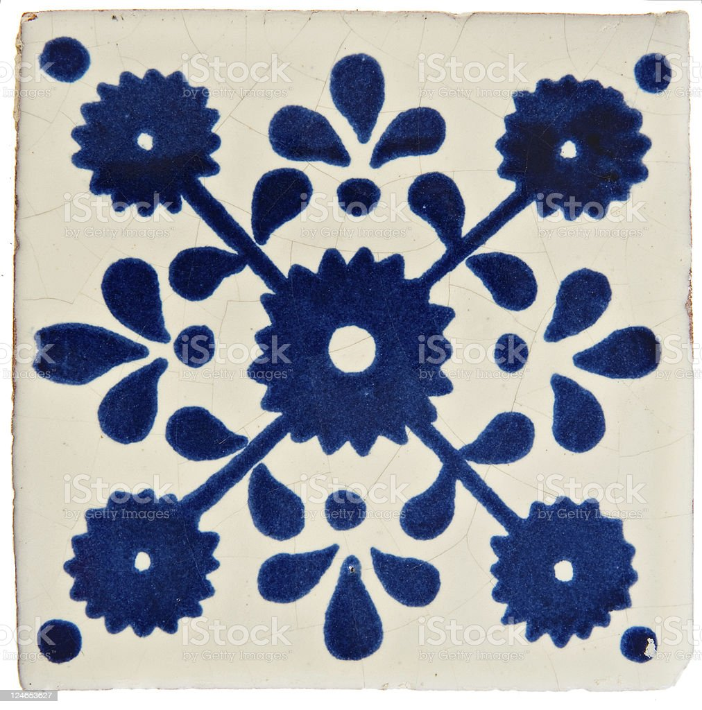 Handcrafted ceramic tiles gallery tile flooring design ideas handcrafted ceramic tiles images tile flooring design ideas handcrafted mexican ceramic tile stock photo 124653627 istock dailygadgetfo Images
