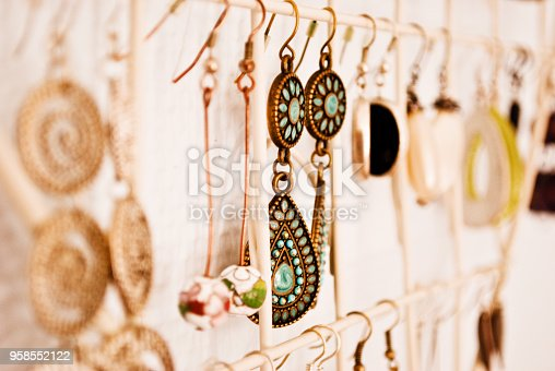 istock Handcrafts and Goods on Display In A Street Market, Nairobi, Kenya 958552122