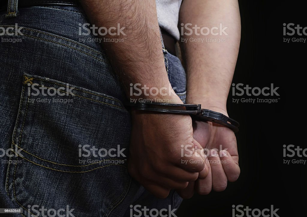 Handcuffs 11 royalty-free stock photo