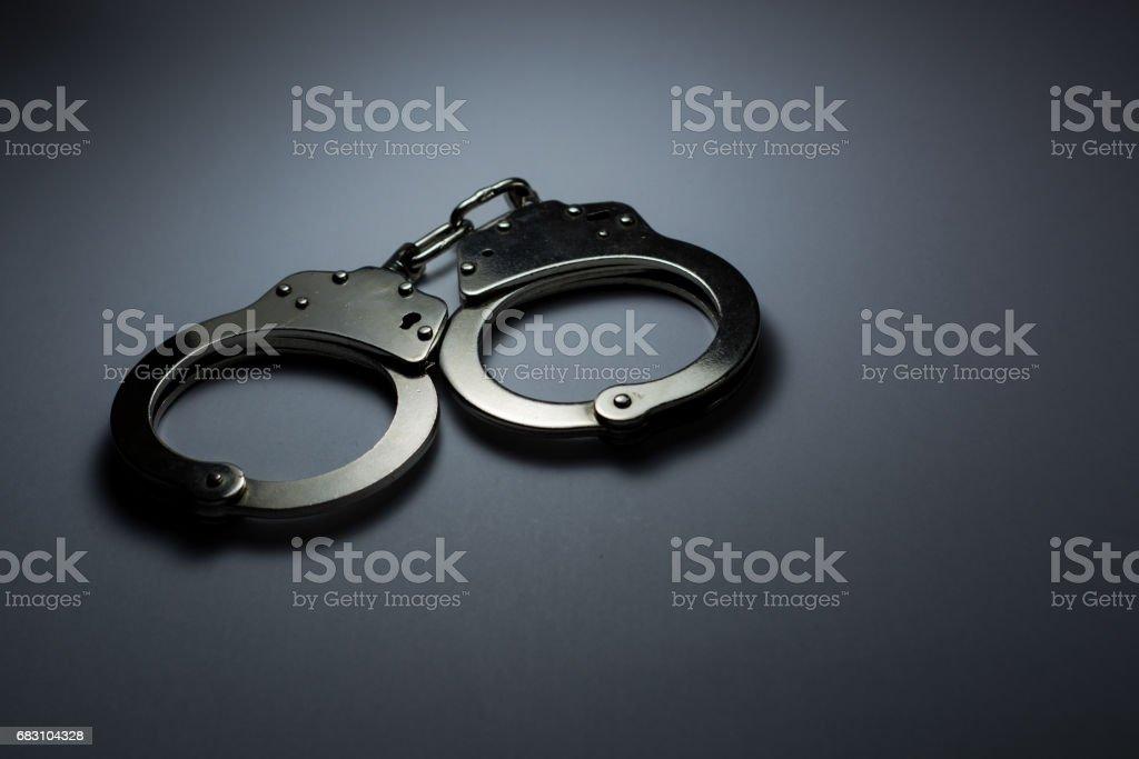Handcuffs - foto de acervo