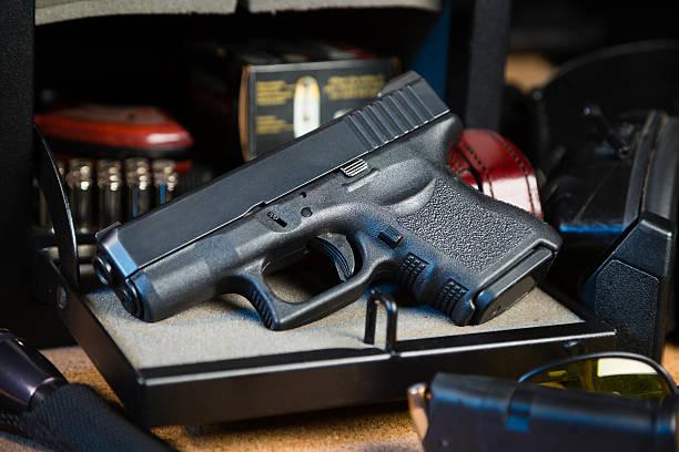 권총 및 안전 - 무기 뉴스 사진 이미지