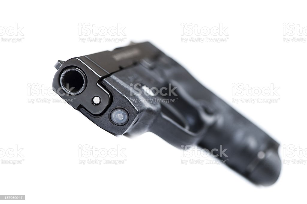 handgun royalty-free stock photo