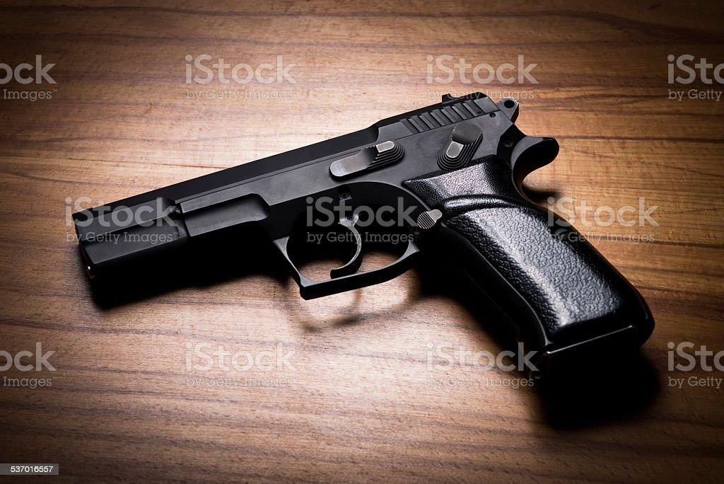 Arma de mano - foto de stock