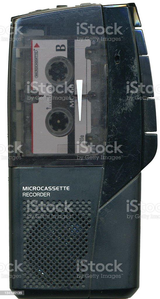 Handheld Tape Recorder stock photo