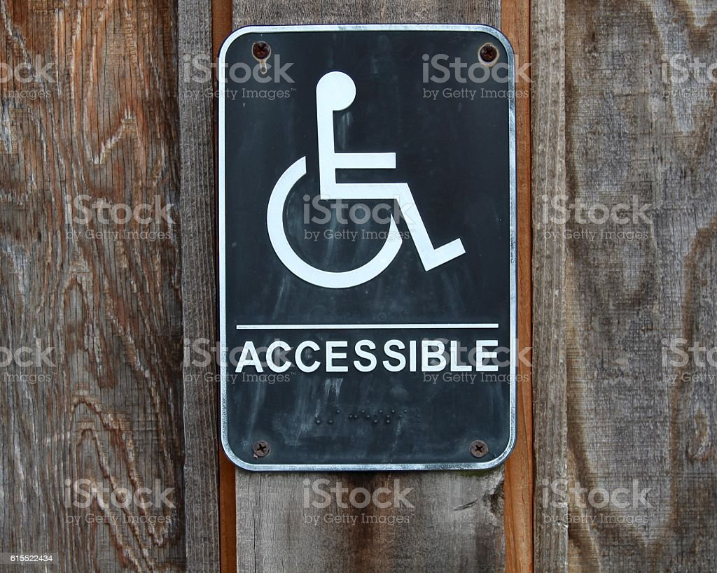 Behindertengerecht behindertengerechte – Foto