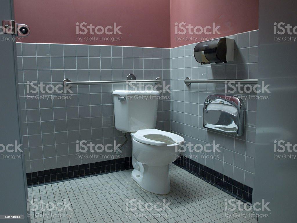 Behindertengerechte Toiletten in Unternehmensniederlassungen – Foto