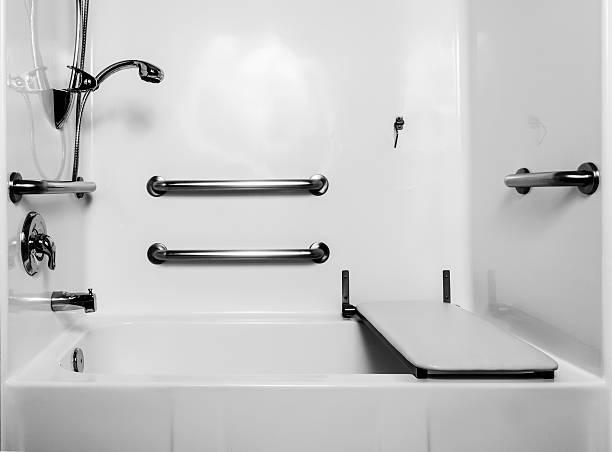 Banheiro para deficiente - foto de acervo