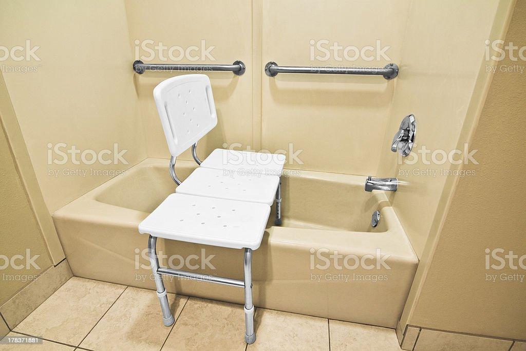 Handicap Bathing Chair royalty-free stock photo