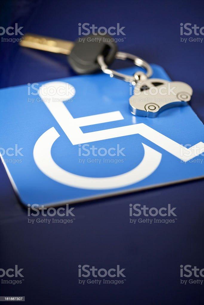 Handicap Motoring stock photo