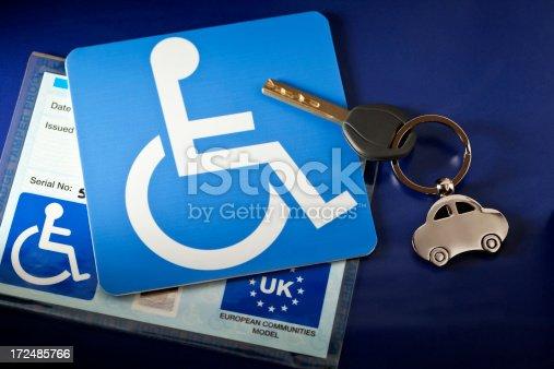 istock Handicap Parking UK 172485766