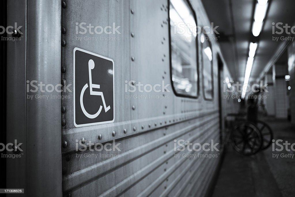 Handicap stock photo