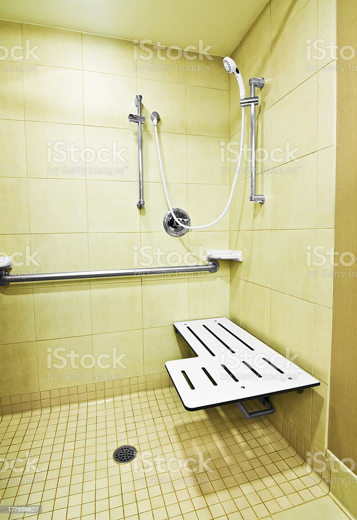 Behindertengerechte Dusche – Foto