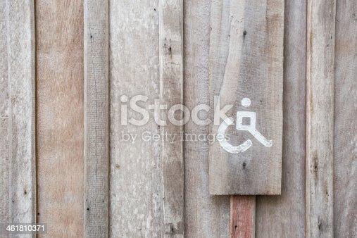 480193462 istock photo Handicap Toilet Sign 461810371