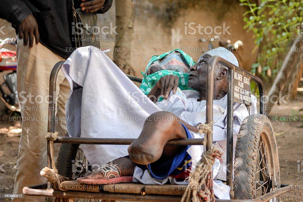 Vétéran Afrique pour personnes à mobilité réduite - Photo