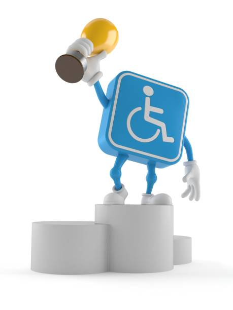Handicapped character on podium holding trophy picture id1169068978?b=1&k=6&m=1169068978&s=612x612&w=0&h=cmcfz5rhwwqlenbjyrhnfuuoaothrzbkruxm5ru1hhy=