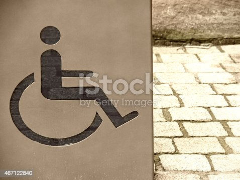 666724598istockphoto handicapped / disabled sign 467122840