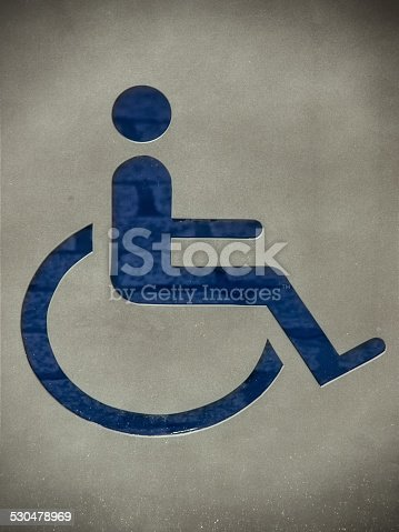 666724598 istock photo handicapped / disabled sign 530478969