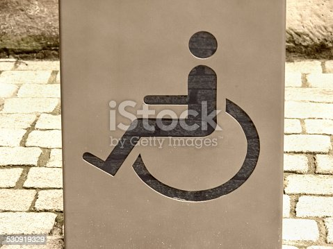 666724598 istock photo handicapped / disabled sign 530919329