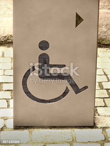 666724598 istock photo handicapped / disabled sign 531430355