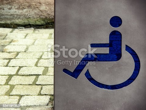 666724598 istock photo handicapped / disabled sign 534191363