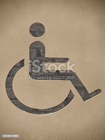 666724598 istock photo handicapped / disabled sign 535894883