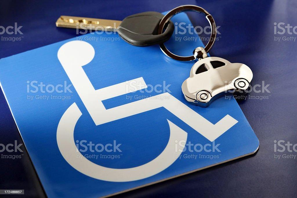 Guida per disabili - Foto stock royalty-free di Accesso per disabili