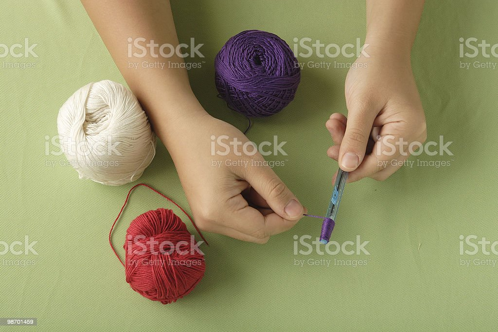 handicraft royalty-free stock photo