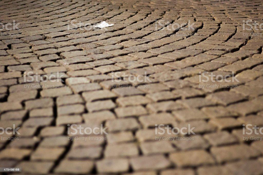 Taschentuch auf dem Boden – Foto