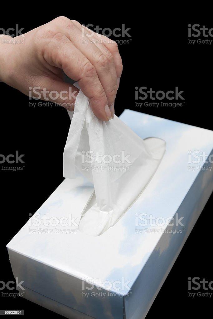 handkerchief royalty-free stock photo