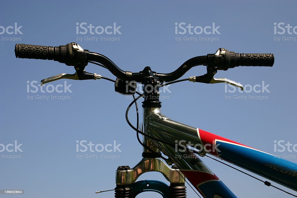 Handle bars royalty-free stock photo