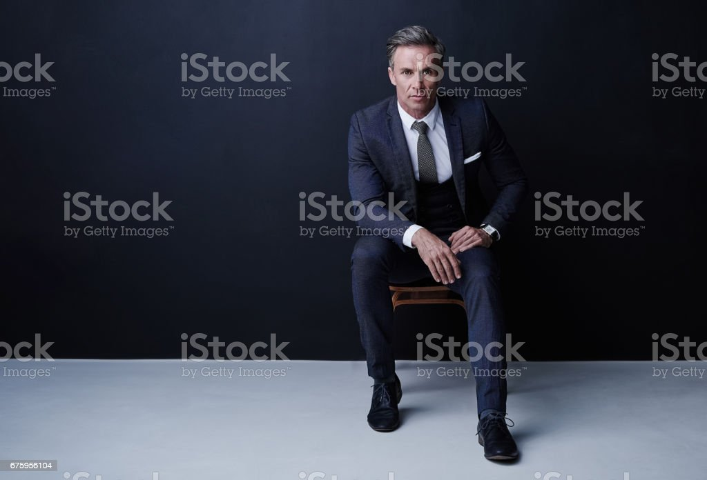 I handle my business. That's why I'm the boss stock photo